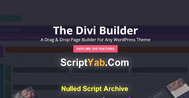 افزونه Page Builder وردپرس Divi Builder v2.0.12
