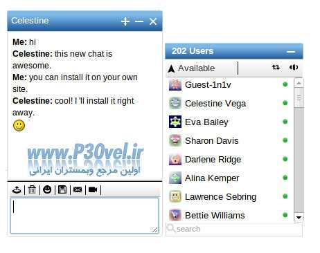 دانلود اسکریپت چت روم فیس بوک Freichat v8.6.1 Free PHP Chat Script