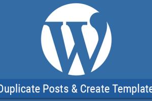 دانلود افزونه وردپرس WP Template & Duplicate Posts v1.3.0 انتخاب قالب برای مطالب