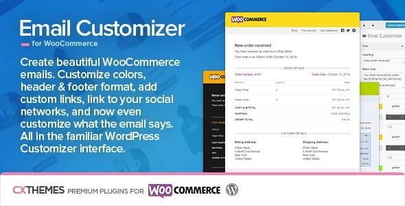 اعمال تغییرات و شخصی سازی ایمیل ها در ووکامرس Email Customizer