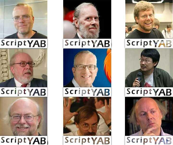 با سازندگان 9 زبان محبوب برنامه نویسی آشنا شوید