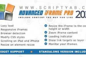 دانلود افزونه Advanced iFrame Pro v2020.1 وردپرس