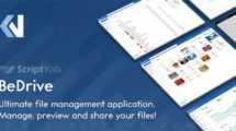 دانلود اسکریپت BeDrive – اشتراک گذاری فایل