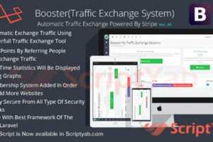 اسکریپت تبادل ترافیک و بازدید Booster Traffic Exchange 6.0