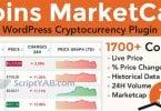 دانلود افزونه وردپرس Coin Market Cap & Prices 3.6.5