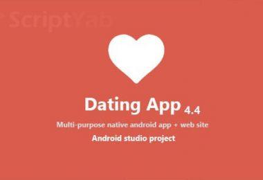 دانلود سورس کامل اندروید شبکه اجتماعی Dating App