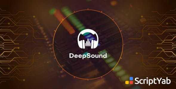 اسکریپت اشتراک گذاری موزیک و آهنگ DeepSound