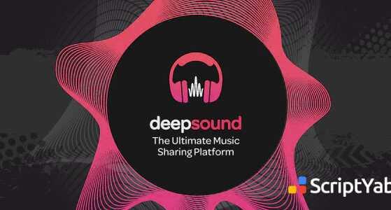 اسکریپت اشتراک گذاری موسیقی و صدا DeepSound v1.3