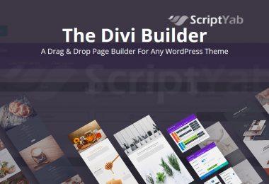 دانلود افزونه صفحه ساز Divi Builder وردپرس