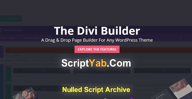 Divi Builder v2.0.12 – WordPress Drag & Drop Page Builder Plugin