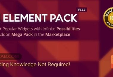دانلود بسته افزودنی Elementor وردپرس Download Element Pack v2.5.0