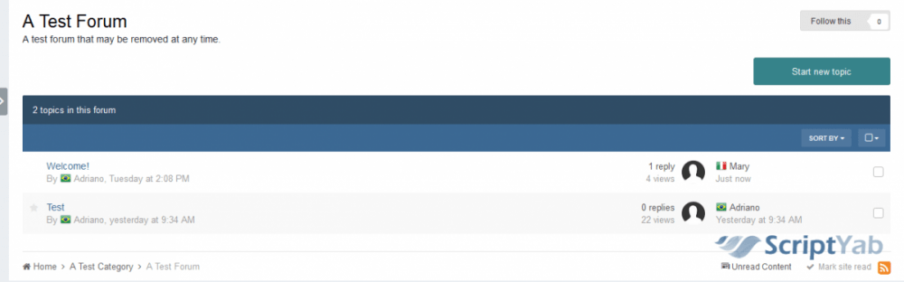 پلاگین کشور کاربران عضو Member's Country 1.2.2 برای IPS 4.x
