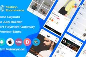 تبدیل فروشگاه ووکامرس به اپ Android و ios با سورس Oreo Fashion v2.0.1