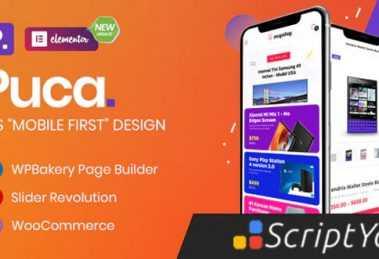 قالب فروشگاهی پوکا برای ووکامرس Puca 2.3.2 : سازگار با موبایل