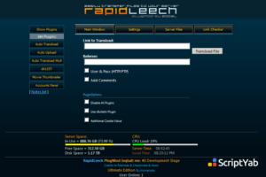 دانلود اسکریپت رپیدلیچ RapidLeech v4.31 آپدیت جدید