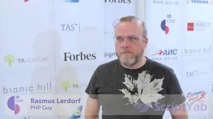 راسموس لردورف Rasmus Lerdorf سازنده زبان PHP