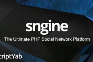اسکریپت شبکه اجتماعی پیشرفته Sngine v2.7.1 NULLED