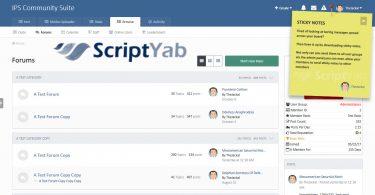 برنامه Sticky Notes چسباندن یادداشت و متن در انجمن ساز IPS