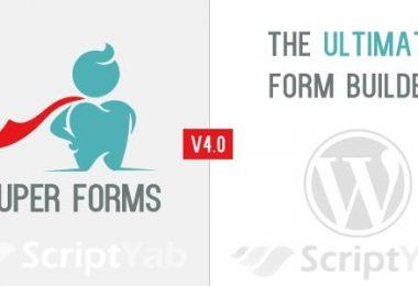 افزونه فرم ساز حرفه ای وردپرس Premium Drag & Drop Form Builder WordPress Plugin