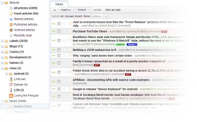 دانلود اسکریپت آر اس اس ریدر Tiny RSS Reader v1.7.5