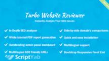 اسکریپت چک کننده سئو سایت Turbo Website Reviewer