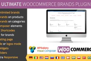 دانلود افزونه ساخت برند محصولات در ووکامرس Ultimate WooCommerce