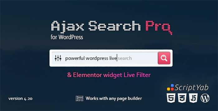 دانلود افزونه Ajax Search Pro - جستجوی پیشرفته وردپرس