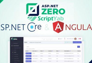 دانلود ASP.NET Zero Core 6.9.0 نسخه کامل و پیشرفته ASP.Net
