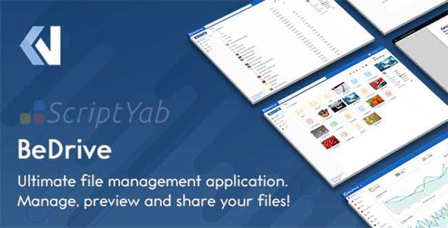 دانلود اسکریپت BeDrive v2.2.3 – اشتراک گذاری فایل مانند مدیافایر