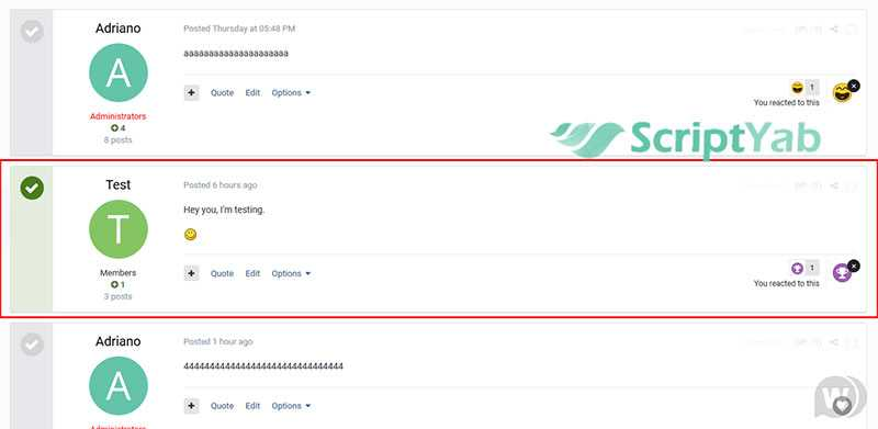 پلاگین انتخاب بهترین پاسخ در تاپیک Best Answer on Discussions Forums 1.1.0