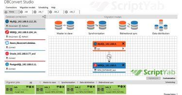 دانلود نرم افزار کانورتر دیتابیس DBConvert Studio v1.5.8