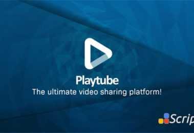 اسکریپت اشتراک گذاری ویدئو PlayTube v2.0.1