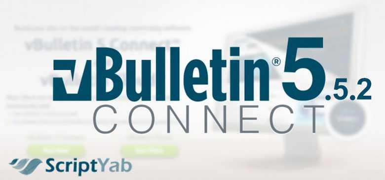 دانلود انجمن ساز ویبولتین vBulletin Connect v5.5.2