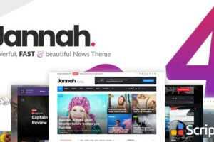 قالب خبری جناح Jannah News v4.7.1 فارسی - قالب مجله خبری