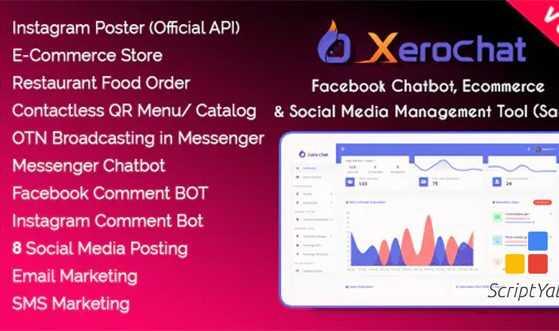 دانلود اسکریپت XeroChat v6.1.2 - بازاریابی چند کاناله با قابلیت فراوان